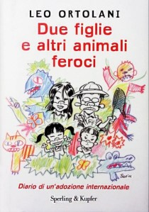 Copertina libro Due figlie e altri animali feroci, di Leo Ortolani