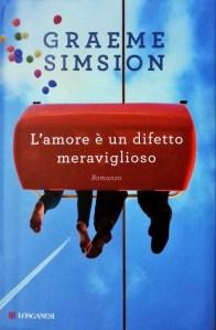 Copertina L'amore è un difetto meraviglioso, Graeme Simsion