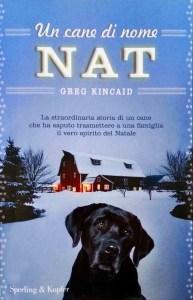 Copertina libro Un cane di nome Nat