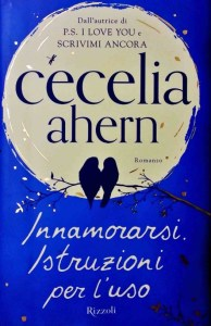 Copertina libro Innamorarsi Istruzioni per l'uso, Cecelia Ahern