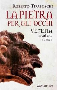 Copertia libro La pietra per gli occhi, Roberto Tiraboschi