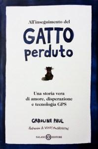 Copertina libro All'inseguimento del gatto perduto, di Caroline Paul
