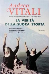 Copertina libro La verità della suora storta, di Andrea Vitali