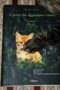 Copertina libro Il gatto che aggiustava i cuori, di Rachel Wells