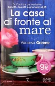 Copertina libro La casa di fronte al mare di Vanessa Greene
