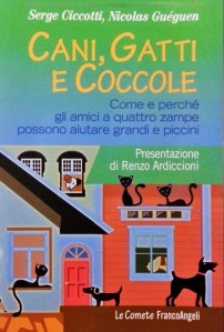 Copertina libro Cani Gatti e Coccole di Serge Ciccotti e Nicolas Guéguen