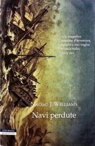 Copertina romanzo Navi perdute di Naomi J. Williams