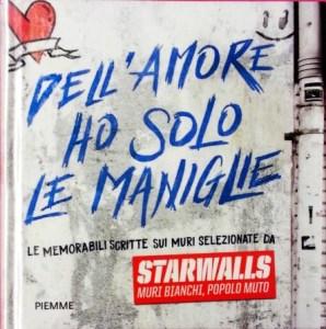 Copertina libro Dell'amore ho solo le maniglie, del collettivo di Starwalls