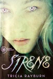 Copertina romanzo young adult Sirene di Tricia Rayburn