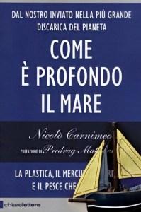 Come è profondo il mare, libro inchiesta sull'inquinamento da plastica, di Nicolò Carnimeo