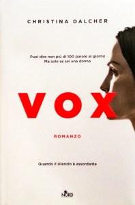Copertina Vox di Christina Dalcher